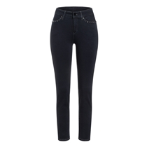 Cambio Piera Superstretch Jeans Denim Mörkblå